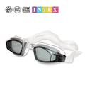 Intex Waterproof Swimming Goggles High Quality Black Blue Pink Anti Fog UV Protection Professional Sports Swim