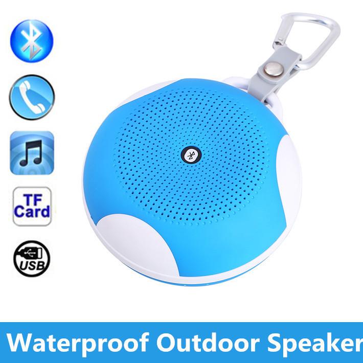 2015new Ipx5 Waterproof Outdoor Bluetooth Speaker Portable Wireless Shower Speakers With Mic
