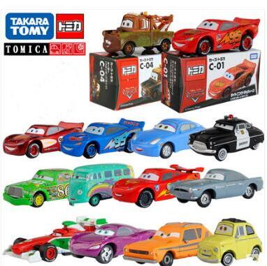 Children's gift toys Tomy Tomica Pixar Cars Children's toy car model High quality! Free Delivery(China (Mainland))