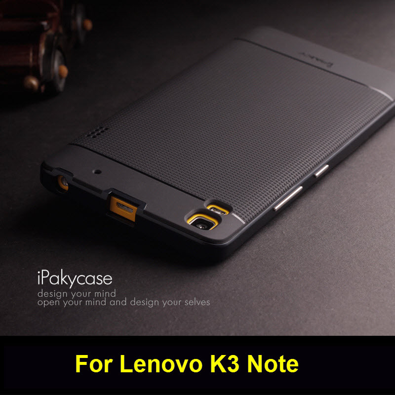 Lenovo K3 Note case,Ipaky Brand PC Frame + Silicone back cover cellphone case for Lenovo K3 Note with retail package(China (Mainland))