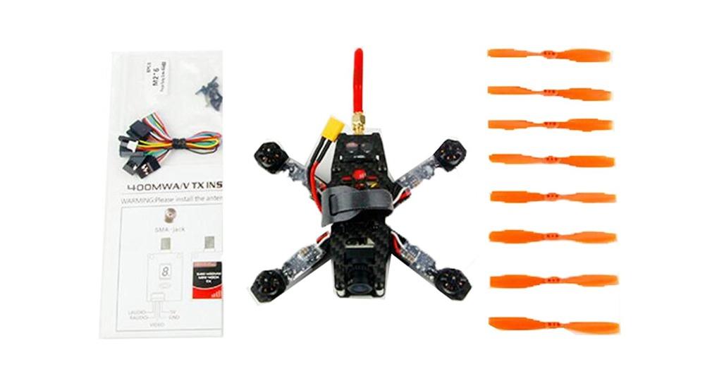 130GT PNP Mini FPV 8 4CH 800TVL Camera RC Racing Drone Carbon Fiber Frame RC KingKong Quadcopter (No Receiver) F19950