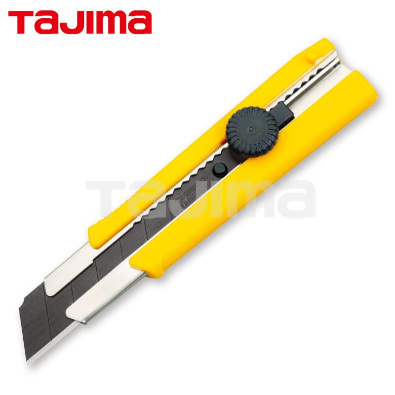 TAJIMA Tajima Japanese heavy utility knife utility knife cutting board knife knob lock 25mm oversized black edge<br><br>Aliexpress