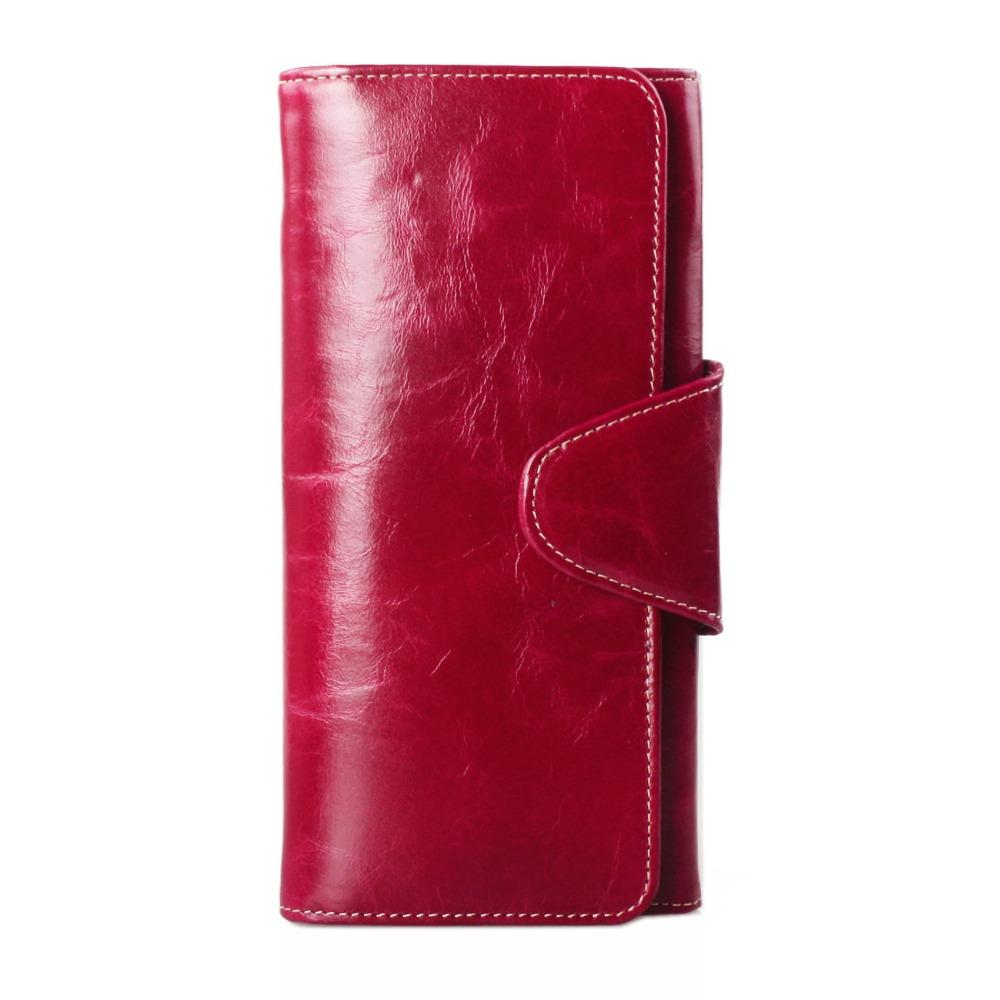 best inexpensive purses - fashion long design genuine leather large capacity multi card ...