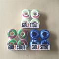 Hot GIRL STOUT Skateboard Wheels PU Wheels for SKateboard 51 52 54mm Skate Board Wheel