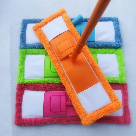 New Arrival Best Price Cleaning Pad Dust Mop Household Microfiber Coral Mop Head Replacement Fit For Cleaning(China (Mainland))