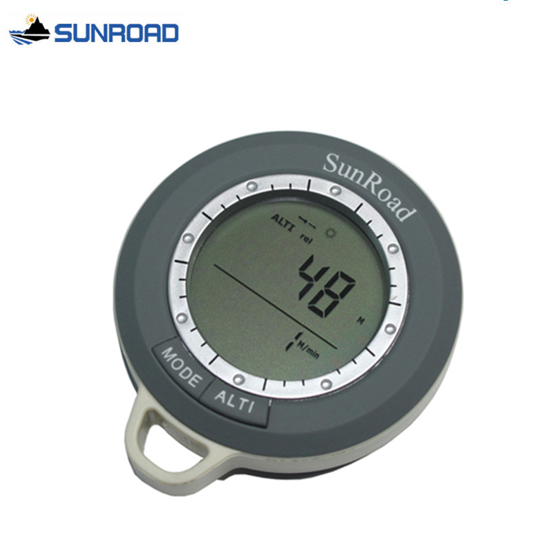 Pocket Digital-watch Digital Altimeter Climb Rate Barometer Thermometer Compass Weather Forecast Time Hours Digital Watch Clock(China (Mainland))