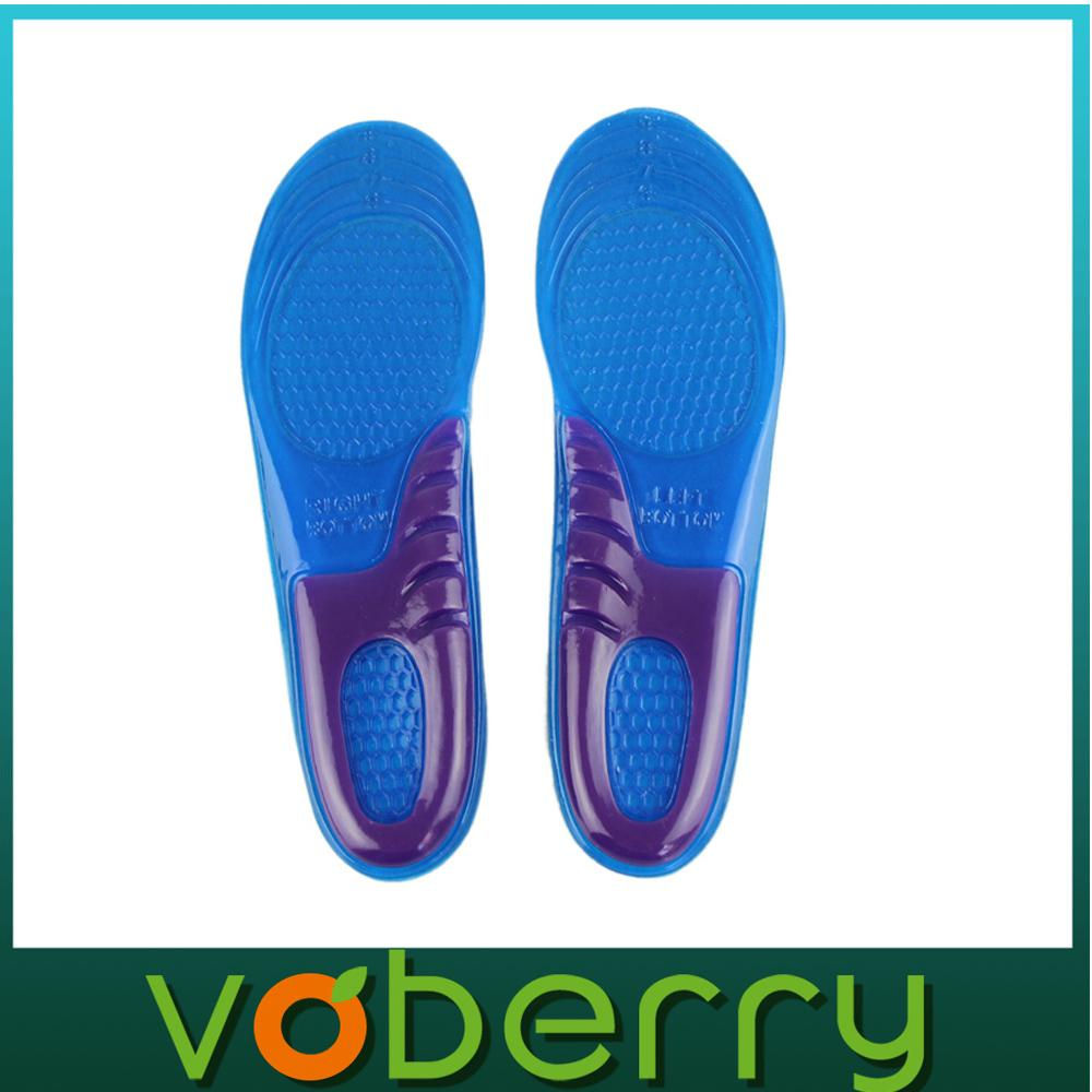 Orthopedic insoles for running