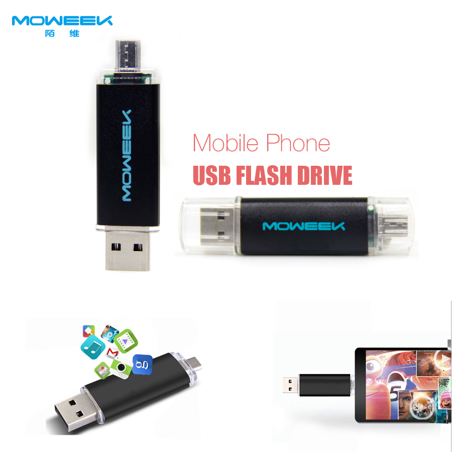 MOWEEK M31 Fashion colorful smart phone usb stick 4/8/16/32/64GB OTG usb flash drive usb 2.0 pen drive otg(China (Mainland))