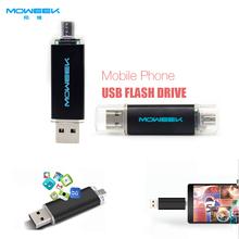 MOWEEK M31 Fashion colorful smart phone usb stick  4/8/16/32/64GB OTG usb flash drive usb 2.0 pen drive otg(China (Mainland))