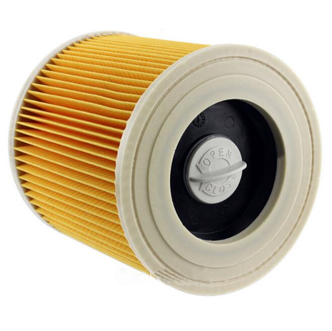 1 Replacement Filter for Karcher Vacuum Cleaner Hoover Wet Dry Cartridage Filter for A1000 A2200 A3500 A223 Compatible Filter(China (Mainland))