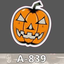 A-839 Pumpkin Face Figure Waterproof Fashion Cool DIY Stickers For Laptop Luggage Fridge Skateboard Car Graffiti Cartoon Sticker
