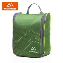 Free Shipping cosmetic bag waterproof Outdoor hanging travel wash bag Cosmetic Cases sorting bags large Toilet Bag MLS2166(China (Mainland))