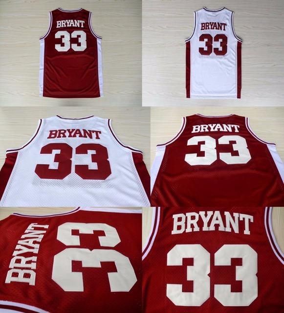lklnvq Aliexpress.com : Buy Kobe Bryant Jersey White Red #33 Kobe Bryant