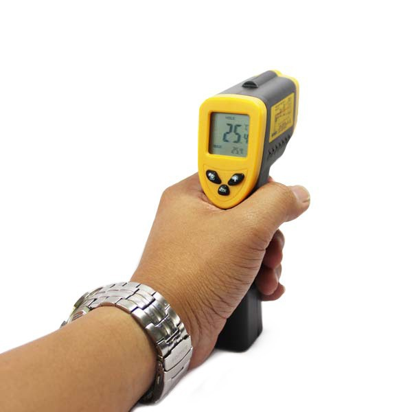 High Accuracy DT-8550 LCD Digital Handheld Non-Contact Laser Infrared Thermometer -50~+550C(China (Mainland))