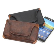 Wallet Leather Case Belt Clip Holster ZTE Blade V7 Lite Mobile Phone Waist Bag - girls store