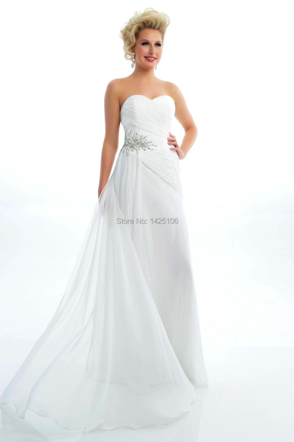 Compare Prices on Cheap Long White Prom Dress- Online Shopping/Buy ...