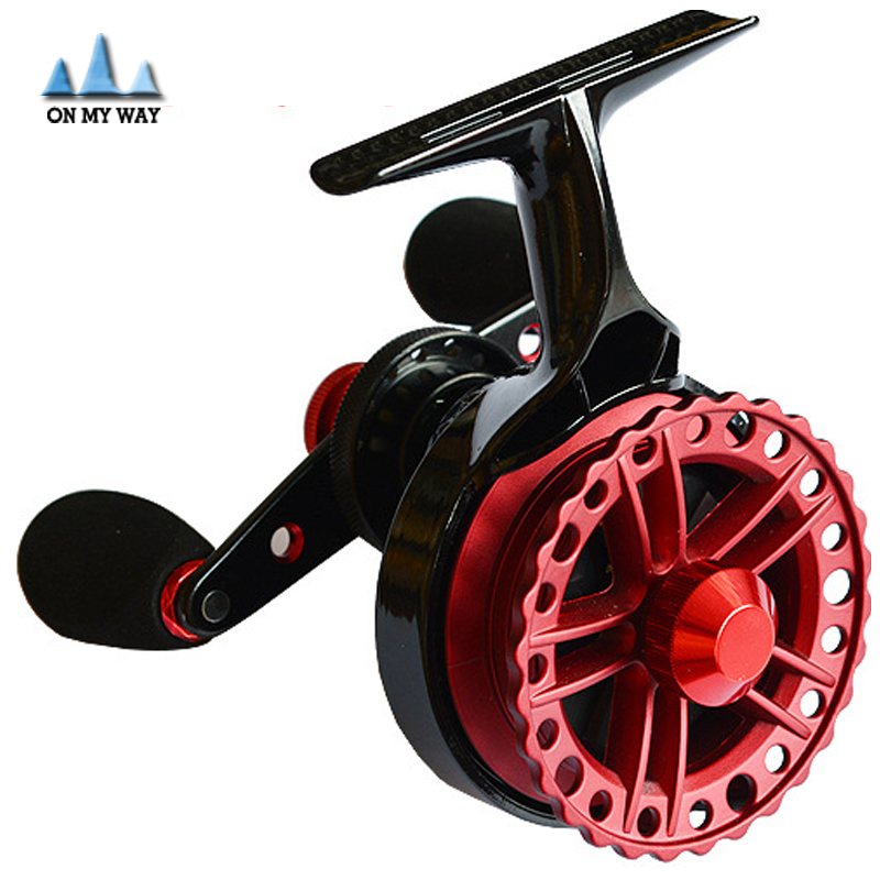 High Quality Engineering Resins Sea Ice Fly Flies Fishing Line Wheel Skillful Fish Reel Durable Free Shipping<br><br>Aliexpress