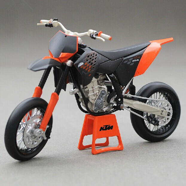 Free Shipping 1/12 KTM 450 SM-R 09 Scale Diecast Motorbike Model Toys Metal Motorcycle Model Toy In Stock(China (Mainland))