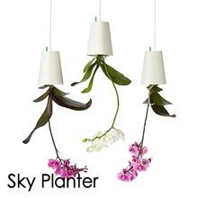 Buy 1 pcs Big Size 19*13.5*13.5cm Hanging Plastic Flower Pots Garden Sky Planter Upside-Down Flower Pots Planters Green Plants Pot for $17.99 in AliExpress store