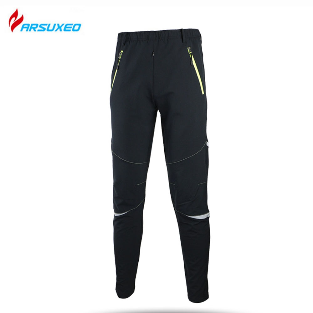WOLFBIKE Mens Cycle Pants Winter Wind Pants Tights Warmth Trousers Thermal Fleece Windproof Bicycle Cycling Bike Racing Pants<br><br>Aliexpress
