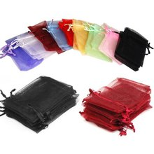 Buy 100 Pcs 7x9cm Premium Organza Wedding Favour Bags Gift Mini Jewelry Bags Pure Yarn bag 19 Colors Can Choose for $4.28 in AliExpress store