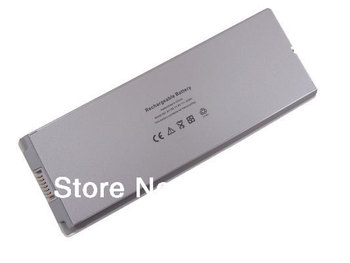 """DC 10.8V 55WH White Universal Laptop Battery for Apple 13"""" MacBook A1185 A1181 MA254 MA255 Free Shipping"""