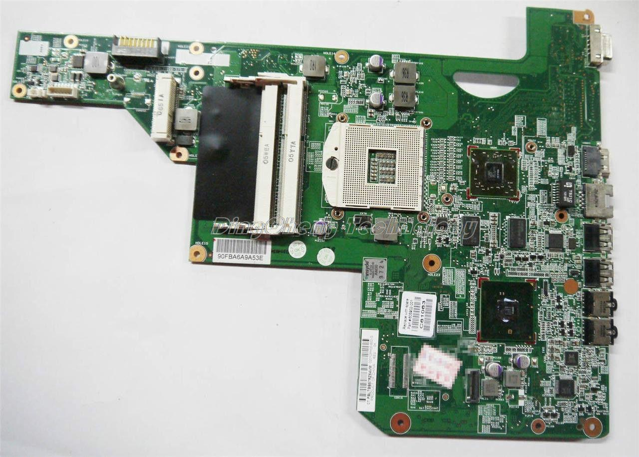 laptop Motherboard For hp compaq cq62 g62 g72 605902-001 for intel cpu with HM55 5430/512M non-integrated graphics card(China (Mainland))