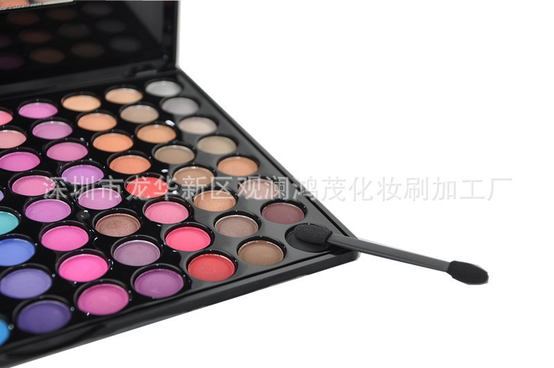 88 color eye shadow makeup palette professional makeup artist recommended color colorful eye shadow on the 4th(China (Mainland))