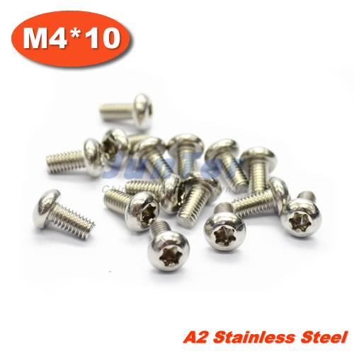 1000pcs/lot M4*10mm Torx Pan Head Machine Screw Stainless Steel<br><br>Aliexpress