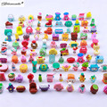 Yamala 2017 50PCS Lot Fruit Vegetable Figure Toy Boy And Girls Change Season 1 2 3