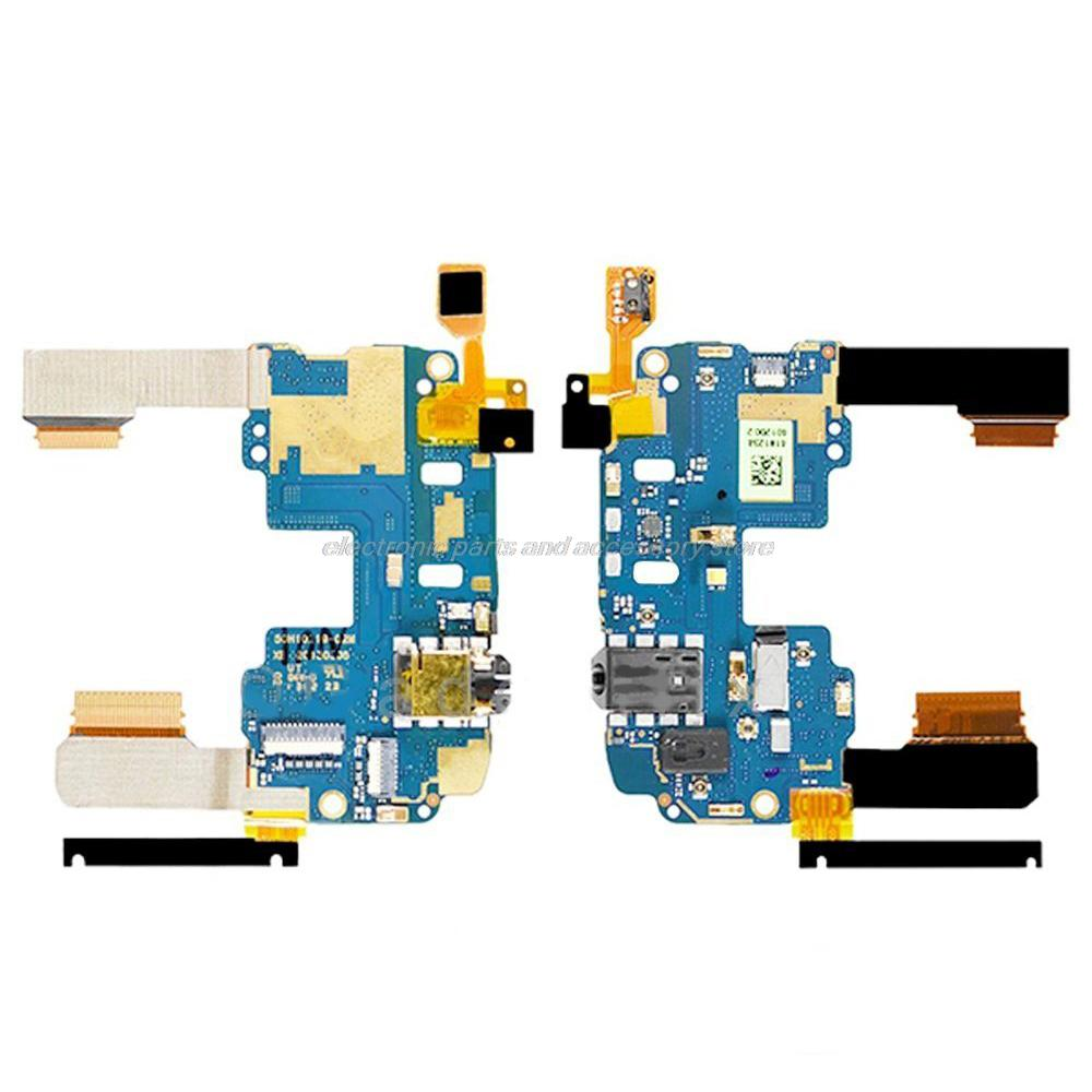 for HTC One Mini M4 Mainboard Power switch on off Volume headphone jack audio Main Flex cable, 100% tested Original(China (Mainland))