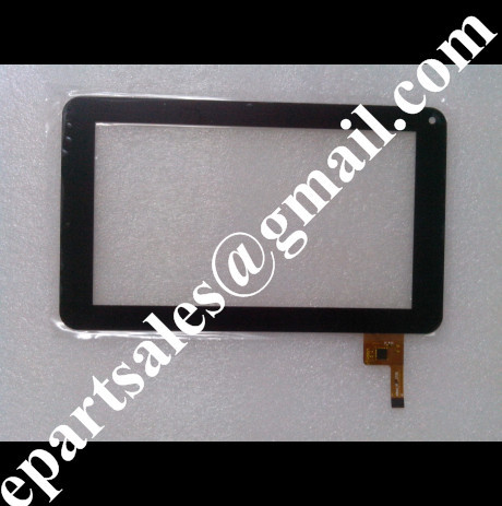 Wholesale  7 Capacitive touch screen digitizer touch handwritten touch panel for HKC M76 dualcore tablet  HLD_0726  replacement<br><br>Aliexpress