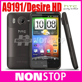 "UNlocked original G10 Desire HD Original HTC Desire HD A9191 4.3""TouchScreen 8MP WIFI GPS Android Unlocked Mobile Phone"