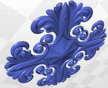 cnc STL file 3d model relief rosette_56 format - Professional 3D models Supplier Co,.Ltd store