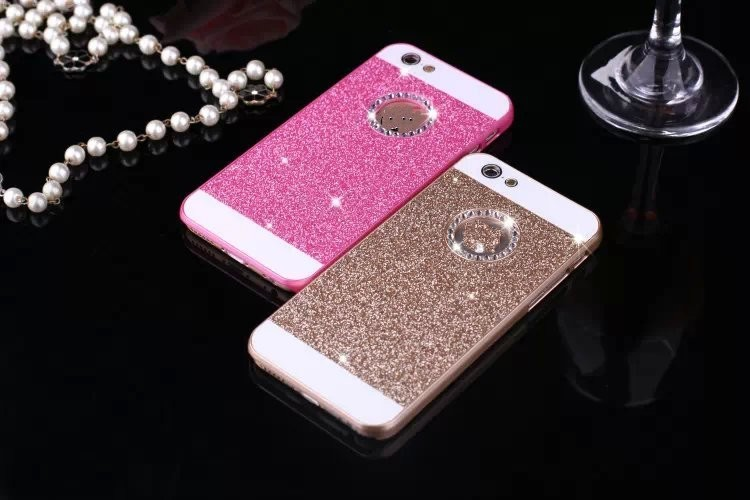 Glitter Cover 5s Case Cute Mobile Phone Iphone 5 Bling Crystal Rhinestone Cases - Sonphone Group store