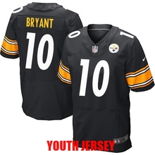 Pittsburgh Steeler Ben Roethlisberger Antonio Brown Troy Polamalu Le'Veon Bell Jerome Bettis Martavis Bryant For YOUTH KIDS(China (Mainland))