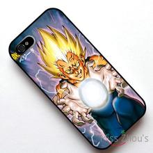 For iphone 4/4s 5/5s 5c SE 6/6s plus ipod touch 4/5/6 back skins mobile cellphone cases cover Dragonball Z-Final Flash