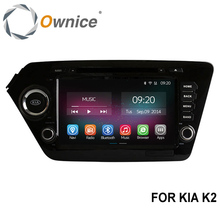 Ownice C200 8'' 4 Core Android 4.4 Car DVD GPS For Kia K2 Rio 2011 2012 Stereo Navigation Radio Support DVR OBDll Built-in WiFi(China (Mainland))