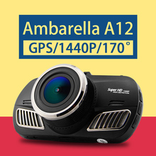Ambarella A12 Car DVR Super HD 1440P Car Camcorder GPS Black Box DVR 170 Degree View Angle Lens Night Vision Dash Cam D201(China (Mainland))