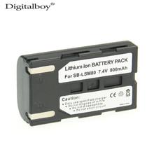 Buy DigitalBoy 1PCS 800mAh SB-LSM80 SB LSM80 SBLSM80 Camera Battery SAMSUNG VP-DC175 VP-DC565 VP-DC575 SC-D357 Camcoder z1 for $9.59 in AliExpress store