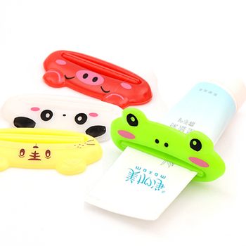 Cute Dispenser Cartoon Easy Squeeze Tube Toothpaste Squeezer Creative Household Products New Free shipping