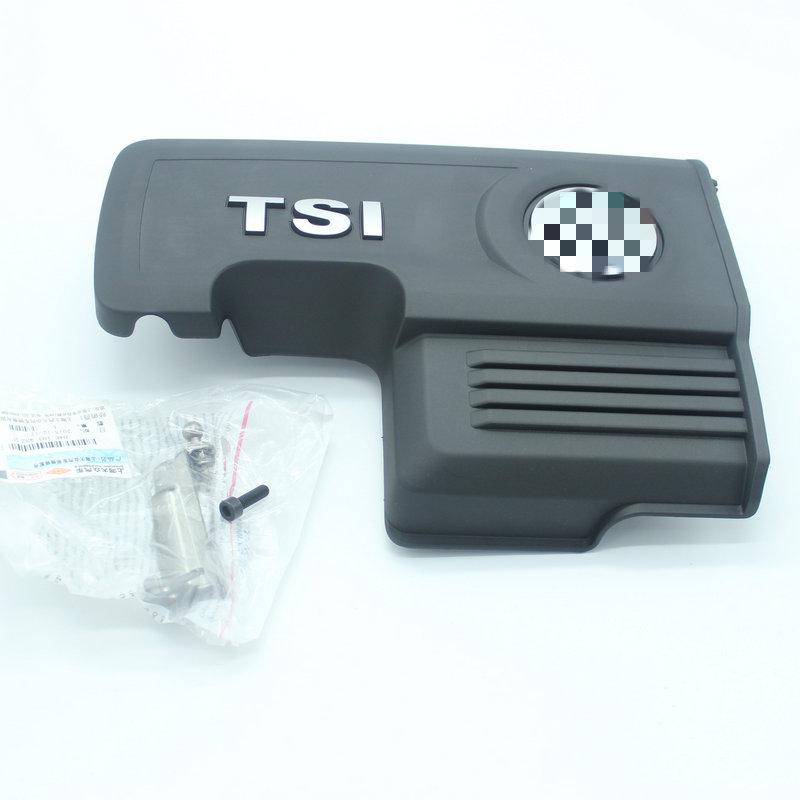 Car engine cover / Engine upper guard + Stent VW GOLF 7 MK7 1.2 T 1.4 T