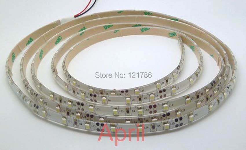 Free ship 5m 300 LED 3528 SMD 12V flexible light 60 led/m, NON-WATER PROOF LED strip white/warm white/blue/green/red/yellow(China (Mainland))