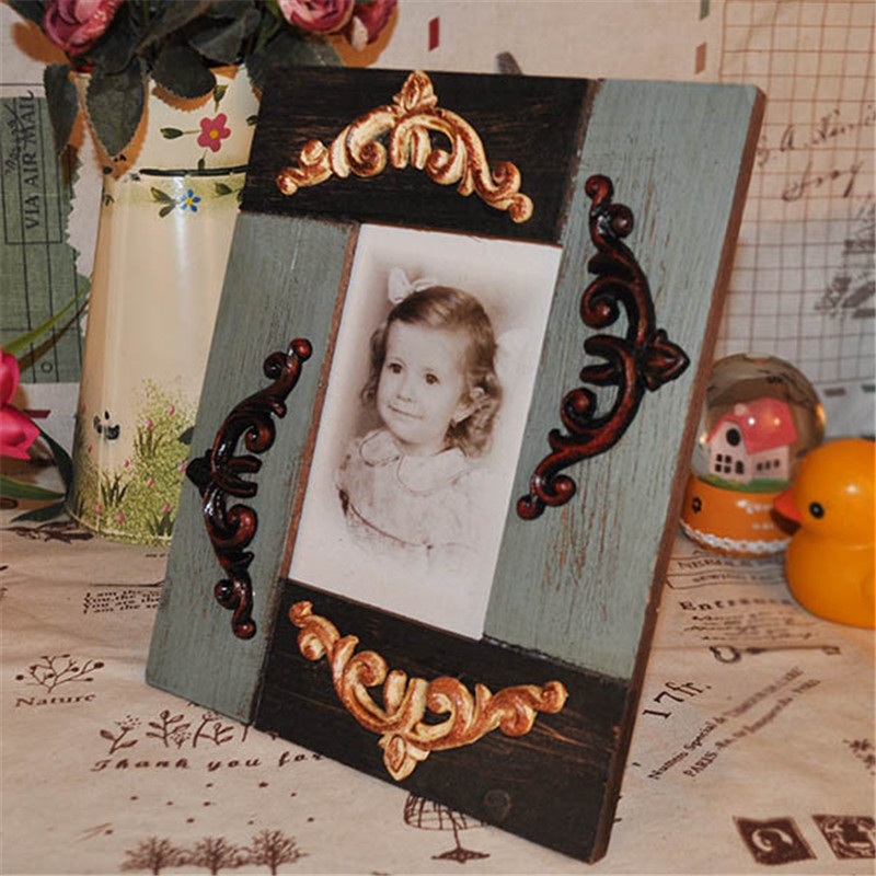 2015 Wooden Baby Photo Frame Home Decor Porta Retratos