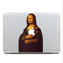 Removable fashion waterproof famous picture Mona Lisa tablet sticker laptop computer sticker for macbook Pro 13,Air 13,135*205mm