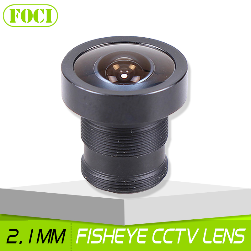 2.1mm 150 Degree Fish Eye CCTV Camera Lens Wide Angle M12 MTV Fisheye Lens For Surveillance Camera Security System(China (Mainland))