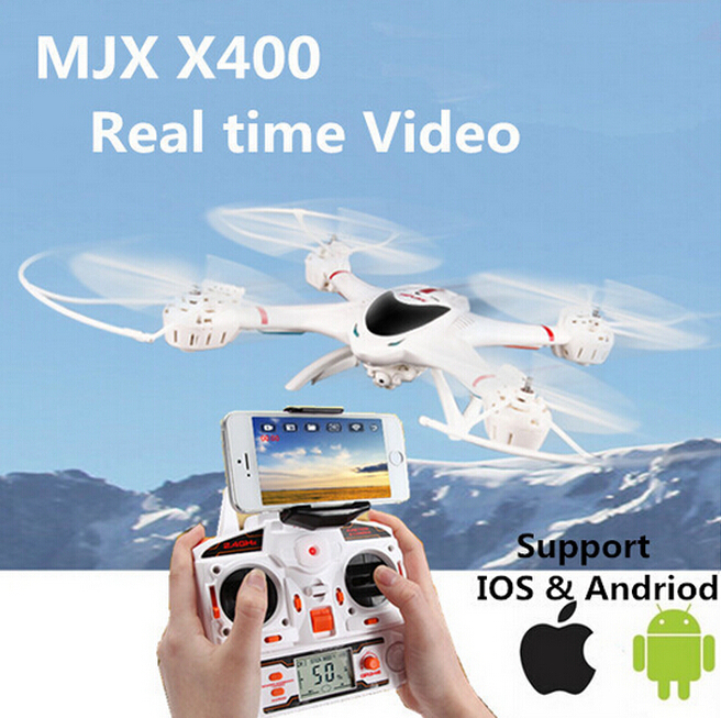 EMS MJX X400 X400-V2 2battery 2.4G RC quadcopter drone rc helicopter 6-axis can add C4005 wifi camera FPV(China (Mainland))