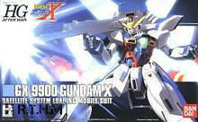 Bandai HGUC 109 GX-9900 Gundam X Scale Model