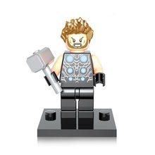 Única Venda de Super-heróis da Marvel Heróis Vingadores Infinito do veneno da Aranha Homem De Ferro Capitão América Thor Figuras Building Blocks Brinquedos(China)