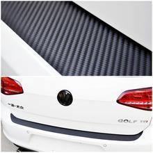 Rear Bumper Protection Carbon Fiber Sticker Volkswagen VW MK7 Golf / MK 7 GTI car styling sticker - Cyberday Outdoor Ltd. store